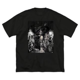 脳内 Big silhouette T-shirts