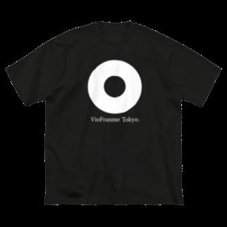 viofranme.のcircle ring around vol.2 Big silhouette T-shirts