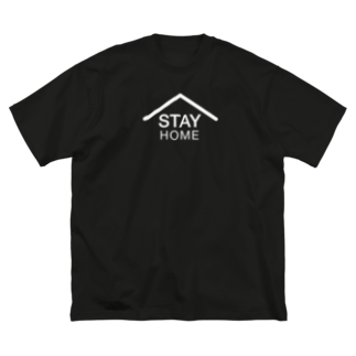 RED STUDIOのSTAY HOME Big silhouette T-shirts