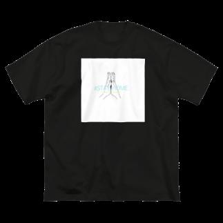 chepicoの#STAY HOME Big silhouette T-shirts