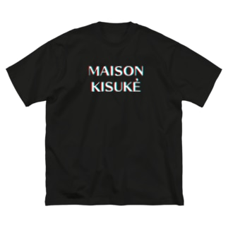 MAISON KISUKE アナグリフ Big silhouette T-shirts