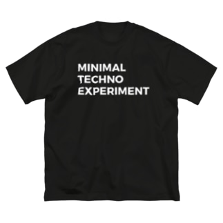 Minimal Techno Big silhouette T-shirts