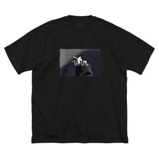 Too late tee 🚬 Big silhouette T-shirts