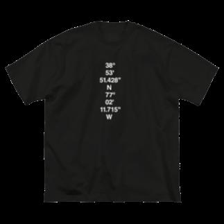 SeanのWHITE HOUSE Big silhouette T-shirts