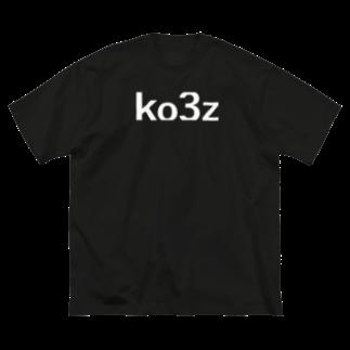 ko3z -京央惨事-のko3z  Big silhouette T-shirts