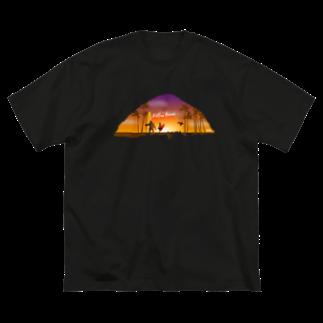 Hilo Diego Design ShopのEndless Hawaii Big silhouette T-shirts