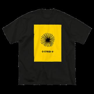 HIRO_yo4daのsunflower Big silhouette T-shirts
