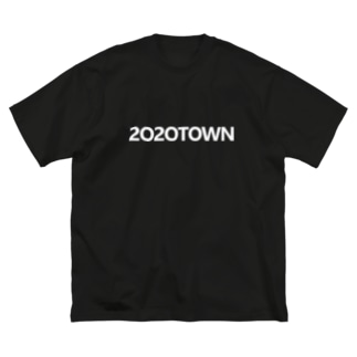 2020TOWN Big silhouette T-shirts