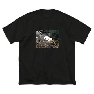 流行の成れの果て Big silhouette T-shirts