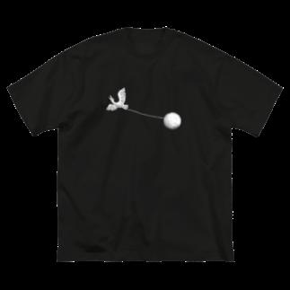 OW STOREのBird Watcher White Big silhouette T-shirts