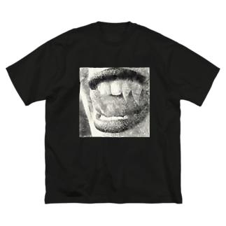 味覚 Big silhouette T-shirts
