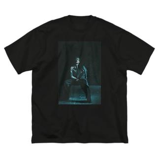疎外 Big silhouette T-shirts