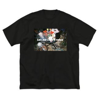 #let_me_chill Big silhouette T-shirts