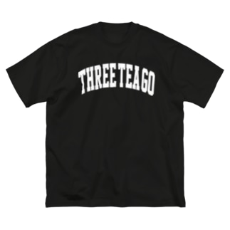 BIG COLLEGE Big silhouette T-shirts