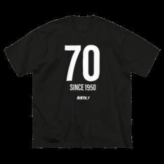 BIRTH.YのBirthYear 1950 Big silhouette T-shirts