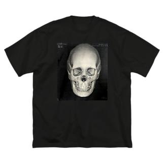 折れた前歯の行方をまだ私は知らない Big silhouette T-shirts