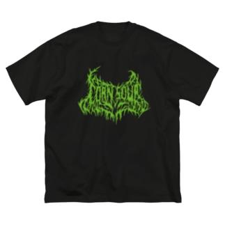 CORN SOUP (green) Big silhouette T-shirts