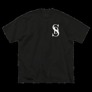S.DogのSD overlap LOGO Big silhouette T-shirts
