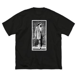 『寅美東ん』ステッカー Big silhouette T-shirts