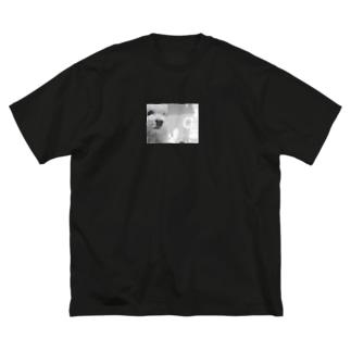 まだ見ぬ犬 Big silhouette T-shirts