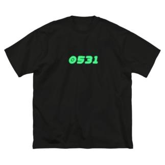 誕生日のお祝いありがとう記念 Big silhouette T-shirts