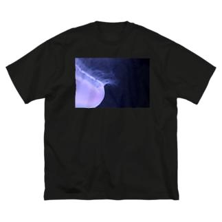 くらげ『深淵』 Big silhouette T-shirts