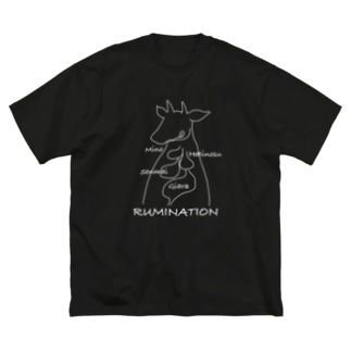 牛の胃袋 反芻Tシャツ Big Silhouette T-Shirt
