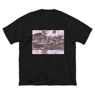 ニューデリーの思い出 Big silhouette T-shirts