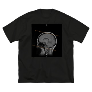 私の脳(私用) Big silhouette T-shirts