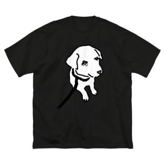 hitonoinuのひとのいぬ Big silhouette T-shirts