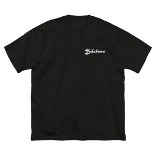 YOKOHAMA Big silhouette T-shirts