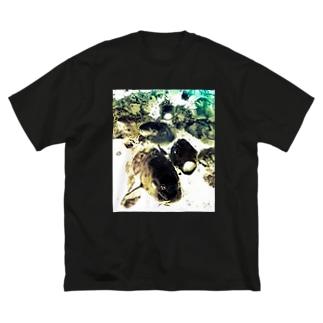 恋に鯉する?! ver.2 Big silhouette T-shirts