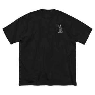 主張しないチーターちゃん Big Silhouette T-Shirt