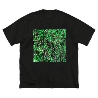 店ショップのモスモス Big silhouette T-shirts
