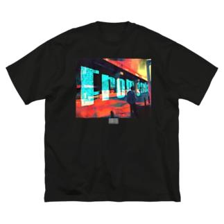 FromゴミクズTシャツ(黒) Big silhouette T-shirts