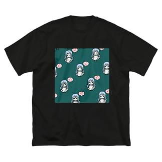不安定ちゃんな宮下の宮下くん シリーズ Big silhouette T-shirts