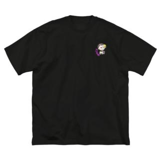 👑凪🍪の変神クロネ Big silhouette T-shirts