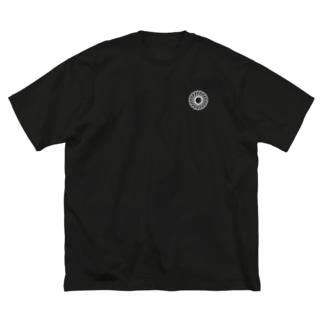 吟 Big silhouette T-shirts