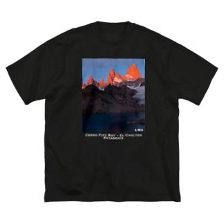 Co. Fitz Roy <Patagonia> Big silhouette T-shirts