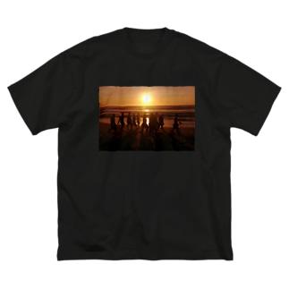 Real Gangsta Big silhouette T-shirts
