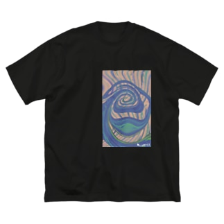 Ms Amaryllis illusion  Big silhouette T-shirts