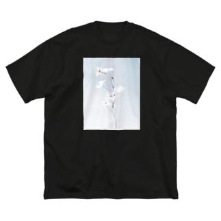 輝。【前面 ver.】 Big silhouette T-shirts