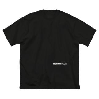 Ms Amaryllis BASIC LOGO 2 Big silhouette T-shirts
