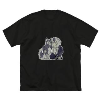 相棒 Big silhouette T-shirts