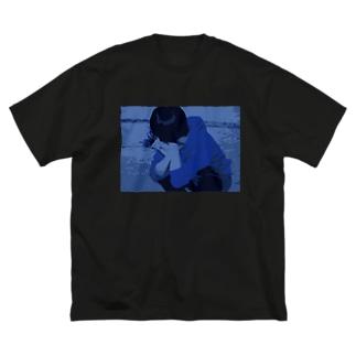 『祈り』 Big silhouette T-shirts