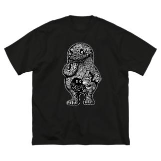 "Dark blanco ""Monster 13"" Big silhouette T-shirts"