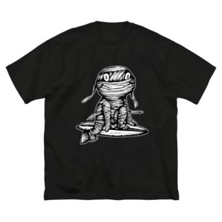 "Dark blanco ""Monster 16"" Big silhouette T-shirts"