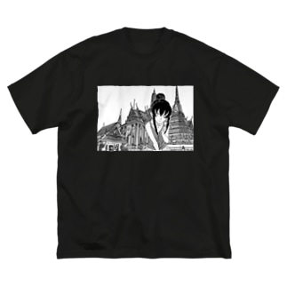 バンコクにて Big silhouette T-shirts