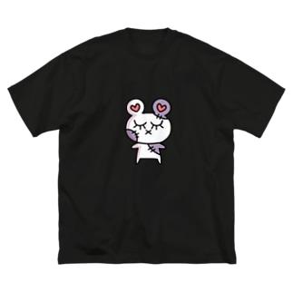 ぞんピ アイテム Big silhouette T-shirts