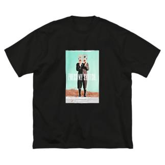 OWAYON ∞ (オワヨン インフィニティ)の【PRESS MY SWICH】 Big Silhouette T-Shirt